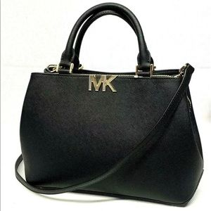 NWT MICHAEL KORS LEATHER FLORENCE Satchel Handbag